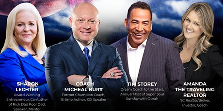 The Comeback Tour with Coach Burt, Sharon Lechter, Tim Storey and MANY MORE tickets