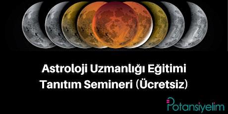 Astroloji Eğitimi Tanıtım Semineri billets
