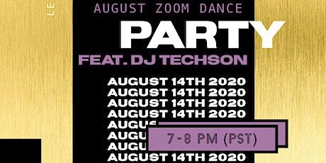 GROOV3 August Virtual Dance Party w/ DJ Techson tickets