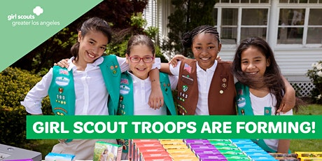 Girl Scout Troops are Forming at St Joseph in Upland bilhetes