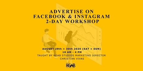 Advertise on Facebook + Instagram (2-Day Workshop) tickets