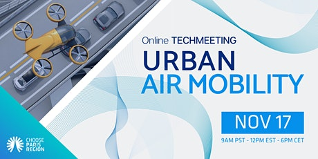 TechMeeting - Urban Air Mobility tickets