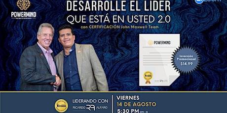 """Seminario Web Certificado: """"Desarrolle el líder que está en usted 2.0"""" tickets"""