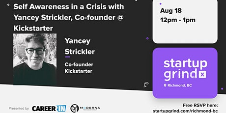 Self-Awareness In a Crisis | Yancey Strickler (Co-Founder of Kickstarter) tickets