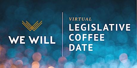 WE WILL Virtual | Legislative Coffee Date with Representative Robinson tickets