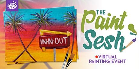 "Virtual Paint Night - ""In-N-Out"" ( Online Paint Night at Home) tickets"