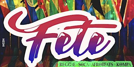Copy of Fete tickets