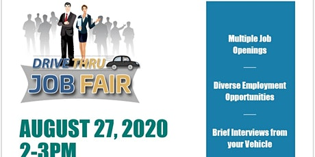 Drive Thru Job Fair tickets