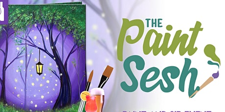 """Virtual Paint and Sip - """"Enchanted Forest"""" ( Online Paint Night at Home) tickets"""