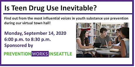 Is Teen Drug Use Inevitable?  Prevention WINS Town Hall tickets