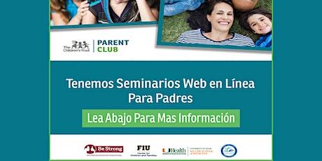 Taller para padres por internet: Criando Adolescentes Responsables tickets