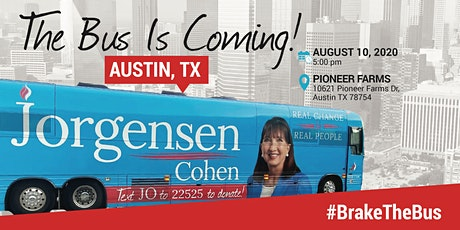 BUS TOUR:  Jo is coming to Austin, Texas! tickets