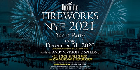 Long Beach Under the Fireworks New Year's Eve Cruise 2021 tickets