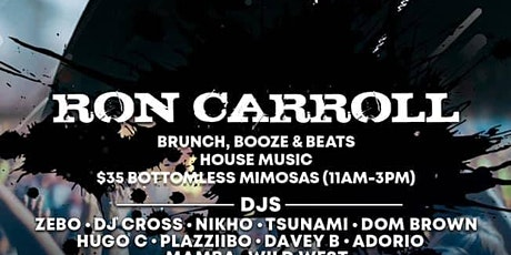 The Sunday Smoke Out Brunch Ft House Legend Ron Carrol tickets