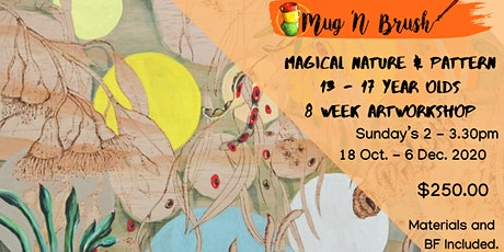 Magical Nature and Pattern 13 - 17  Year Old 8 Weeks of Art tickets