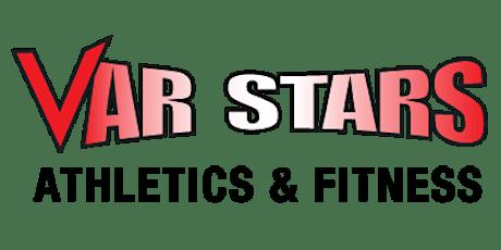Var Stars Zoom Virtual Workout tickets
