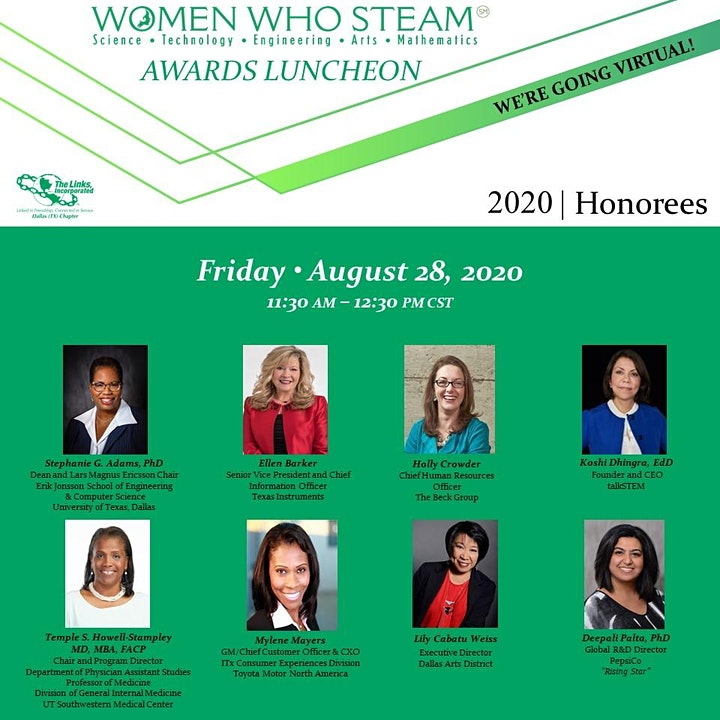 Virtual Women Who STEAM Awards Luncheon image