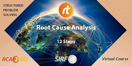 VicTas Root Cause Analysis | 4 Sessions | 12 Steps + Cause Tree | RCARt tickets
