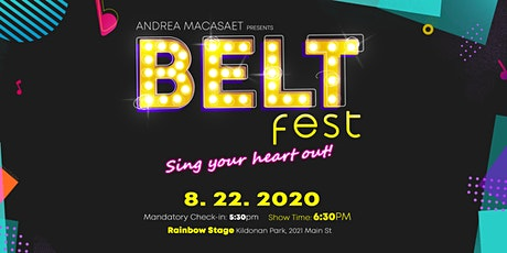 BELT FEST: Sing Your Heart Out tickets