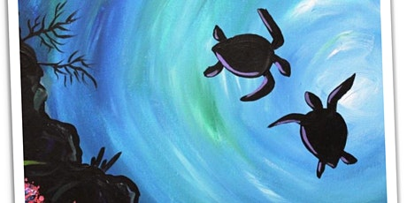 Outdoor Painting Class: 'Sea Turtles' tickets