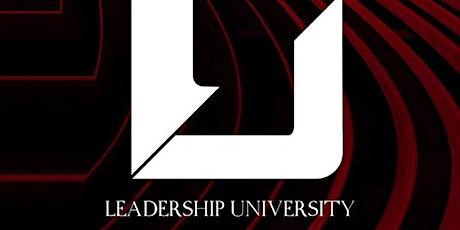 Leadership University 2020/21 tickets