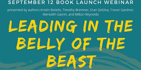 Leading in the Belly of the Beast Book Launch tickets