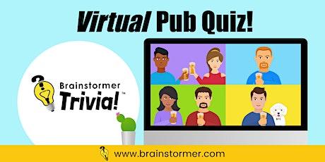 Brainstormer Virtual Pub Quiz tickets