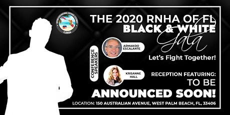 The 2020 RNHA of Florida Black and White Gala tickets