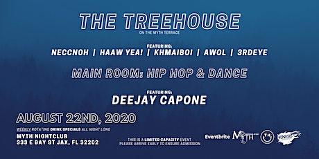 TreeHouse & Capone at Myth Nightclub | Saturday 08.22.20 tickets