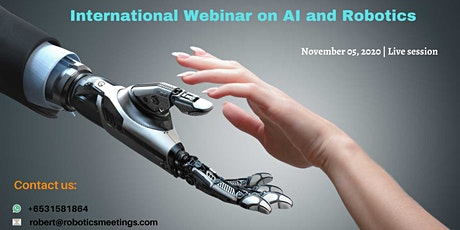 International Webinar on AI and Robotics tickets