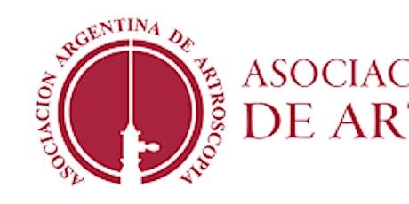 XVI CONGRESO INT. DE LA ASOCIACIÓN ARG. DE ARTROSCOPÍA (Prueba estudiantil) entradas
