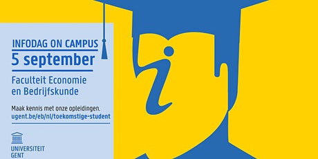 Infodag on campus UGent-FEB - 5 september 2020 (HW/BPM) tickets