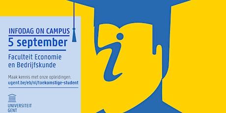 Infodag on campus UGent-FEB - 5 september 2020 (EW/TEW/HIR) tickets