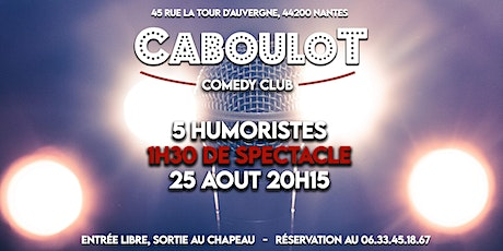 Caboulot Comedy Club #1 billets