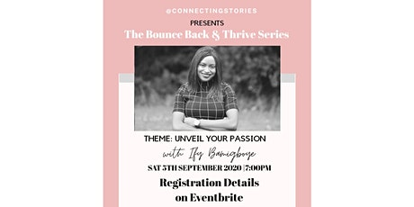 UNVEIL YOUR PASSION - A Connecting Stories Event tickets