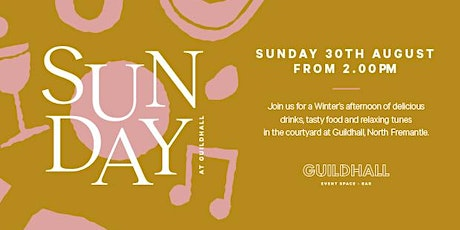 Guildhall Sunday's tickets