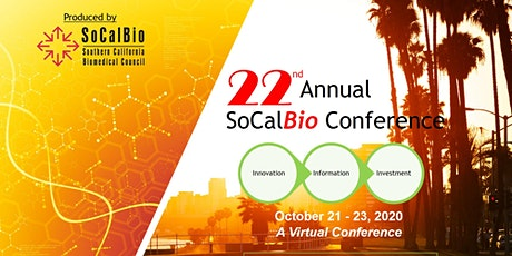 22nd Annual SoCalBio Conference (Virtual) tickets