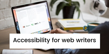 Accessibility for web writers tickets