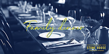 Travel to South America with our next Family dinner! tickets