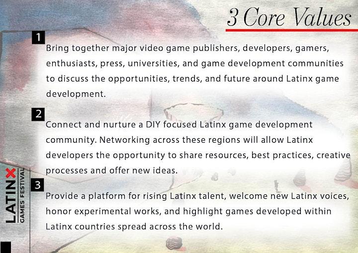 Latinx Games Festival 2020 image