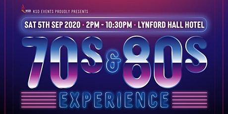 70s & 80s Experience tickets