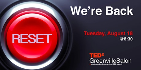 TEDxGreenville: We're Back tickets