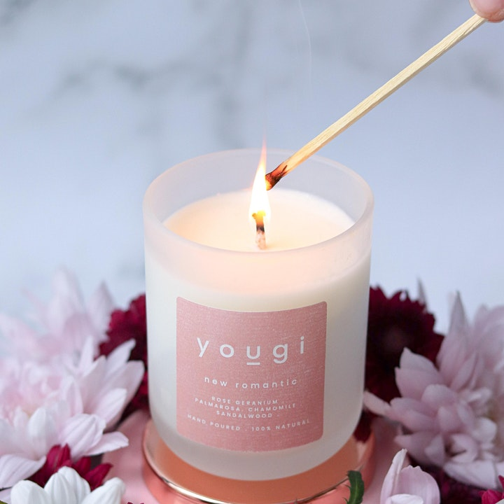 The Aromatherapy Candle  Making Workshop - Online - Kit included image