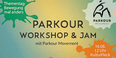 "Workshop: ""Bewegung mal anders – Parkour"" Tickets"