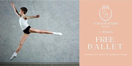 TWO WEEKS FREE Live Ballet Class for Boys tickets