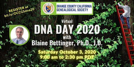 OCCGS DNA Day 2020 with Blaine Bettinger tickets