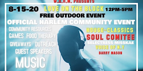 Official Harlem Community Block Party Soul Comitte tickets