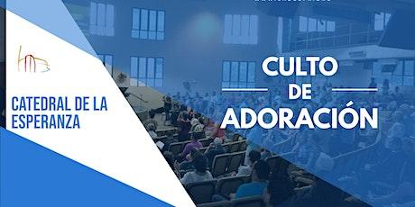 Culto de Adoración de CADES - 16 de agosto 2020 boletos