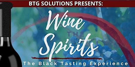 Wine the Spirits tickets