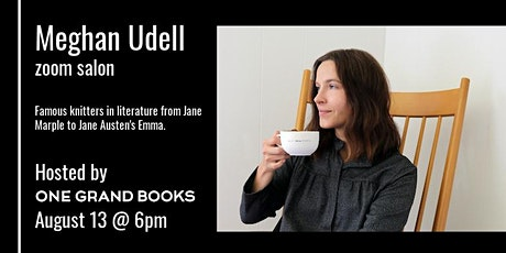 Meghan Udell on literary knitters from Miss Marple to Emma tickets